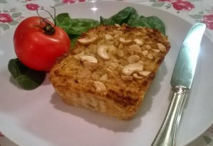 Vegetarian Parsnip and Cashew Nut Roast