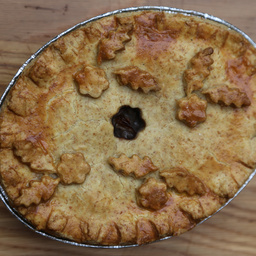 Chestnut and Mushroom Pie